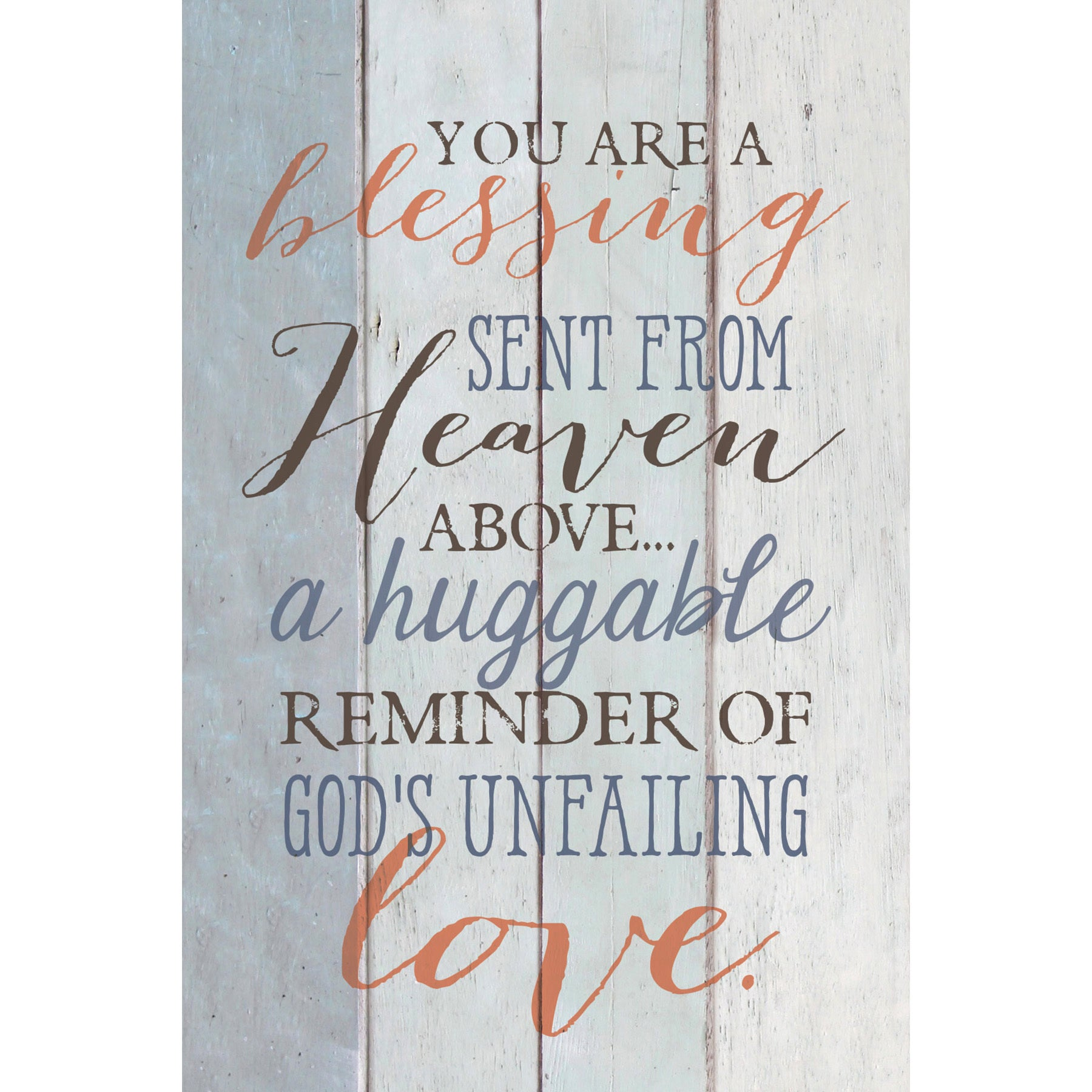 Dexsa You Are A Blessing New Horizons Wood Plaque with Ea...