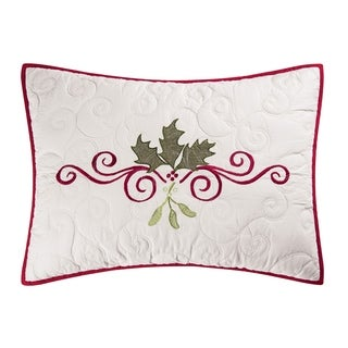 Holiday Garland Cotton Standard Sham