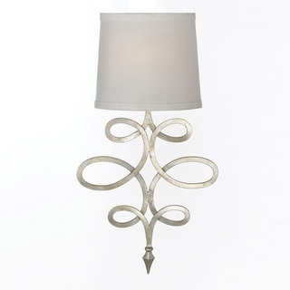 Rhythm Silver Wall Sconce