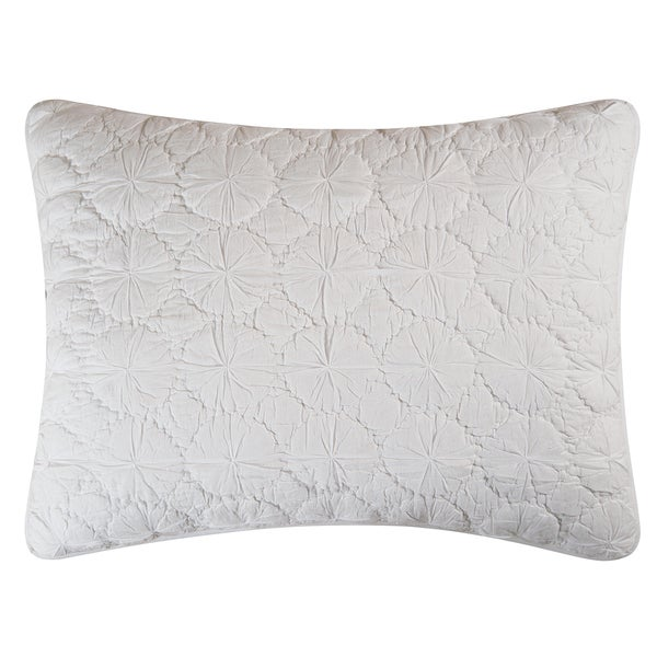 White Mara Cotton Sham