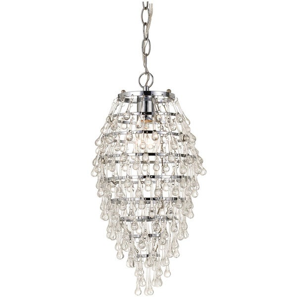Shop Clear Crystal Teardrop Chandelier Free Shipping