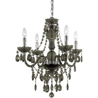 Naples Smoke 4-light Mini Chandelier