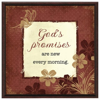 Dexsa God's Promises Wood Frame Plaque with Easel
