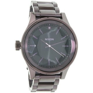 Nixon Women's Purple Stainless Steel Facet A3842172 Quartz Watch
