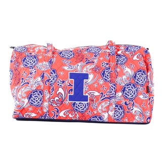K-Sports Illinois Fighting Illini 22-inch Large Duffle Bag