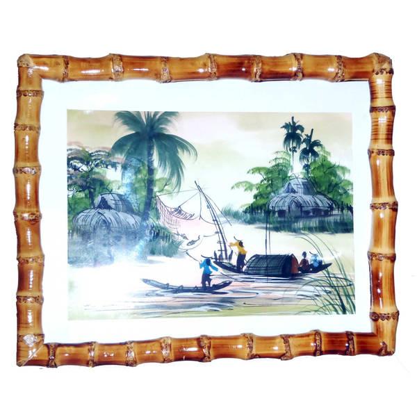 Handmade Natural Bamboo Frame (Vietnam)