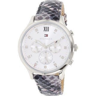 Tommy Hilfiger Women's Stainless Steel Leather 1781615 Quartz Watch