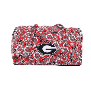 K-Sports Georgia Bulldogs 22-inch Large Duffle Bag