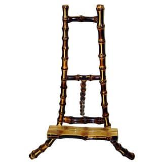 Handmade Burnt Bamboo Easel Frame (Vietnam)