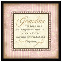 Dexsa Grandma Wood Frame Plaque with Easel