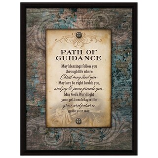 Dexsa Path Of Guidance Wood Plaque with Easel Back
