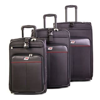 Andare Monterrey 3-piece Expandable Rolling Luggage Set