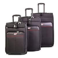 Andare Monterrey 3-piece Expandable Rolling Luggage Set