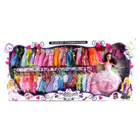 Modern Madilynn Children's Toy Fashion Doll Playset - Pink