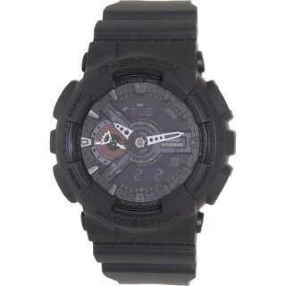 Casio Men's Black Rubber G-Shock GA110MB-1A Quartz Watch