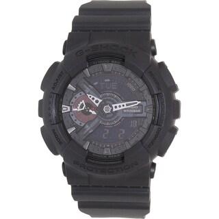 Casio Men's Black Rubber G-Shock GA110MB-1A Quartz Watch