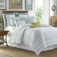 Tommy Bahama La Scala Breezer Seaglass Duvet Cover