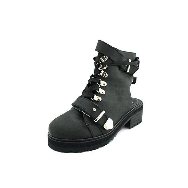 N.Y.L.A. Women's 'Bracen' Leather Boots. Opens flyout.