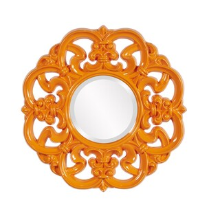 Coco Glossy Orange Mirror