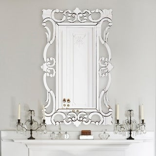 Rebecca Mirrored Framed Mirror