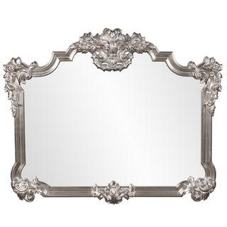 Brighton Bright Silver Leaf Mirror