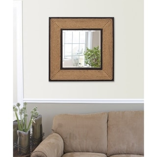 South Hampton Rope Mirror