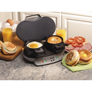 Recertifed Hamilton Beach Dual Breakfast Sandwich Maker (Refurbished)