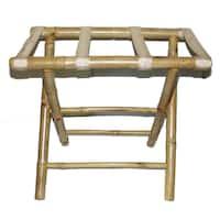 Handmade Bamboo Luggage Rack (Vietnam)