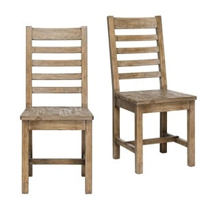 Kasey Reclaimed Wood Natural Dining Chair by Kosas Home