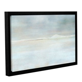 ArtWall Cora Niele's Landscape Snow, Gallery Wrapped Floater-framed Canvas