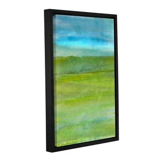 ArtWall Cora Niele's Landscape Iceland, Gallery Wrapped Floater-framed Canvas