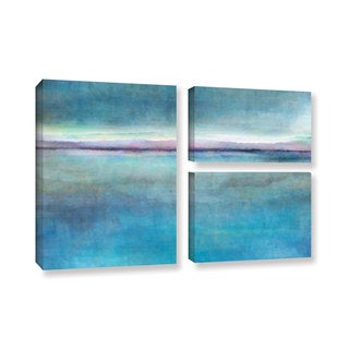 ArtWall Cora Niele's Landscape Early , 3 Piece Gallery Wrapped Canvas Flag Set