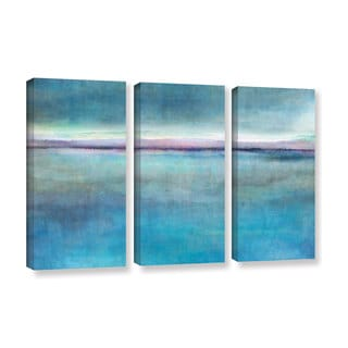 ArtWall Cora Niele's Landscape Early , 3 Piece Gallery Wrapped Canvas Set