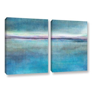 ArtWall Cora Niele's Landscape Early , 2 Piece Gallery Wrapped Canvas Set