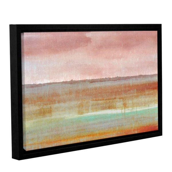 ArtWall Cora Niele's Landscape Autumn , Gallery Wrapped Floater-framed Canvas