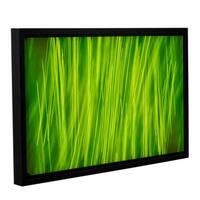 ArtWall Cora Niele's Hordeum, Gallery Wrapped Floater-framed Canvas - Multi