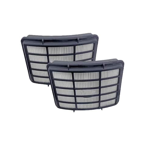 2pk Replacement HEPA Style Post Motor Filters, Fits Shark NV350 Navigator Lift-Away Series, Compatible with Part XHF350