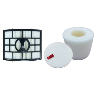 Shark NV650 HEPA Foam and Felt Filters Fit NV650. NV650W NV651 and NV652 Part # XFF650 and XHF650