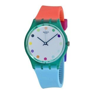 Swatch Unisex GG219 'Originals Candy Parlour' Colorful Silicone Watch|https://ak1.ostkcdn.com/images/products/11343240/P18317280.jpg?impolicy=medium
