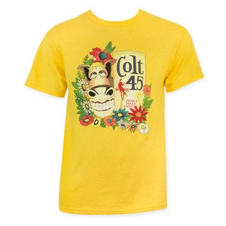Colt 45 Men's Gold Donkey T-Shirt