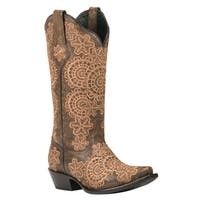 Black Star MEDINA (Brown) Women's Cowboy Boots