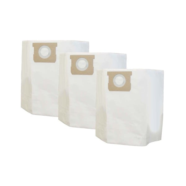 3pk Replacement 10, 12 & 14 Gallon Bags, Fits Shop-Vac, Compatible with Part 9067200 & 9066200
