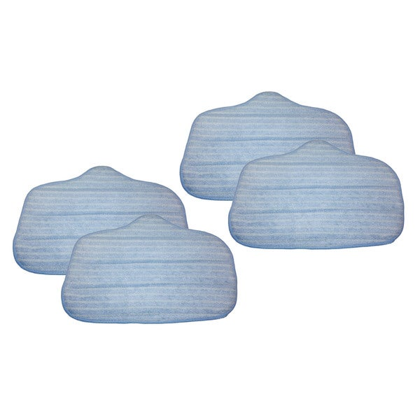 4pk Replacement Microfiber Mop Pads, Fits Steamfast, Washable & Reusable, Compatible with Part A275-020