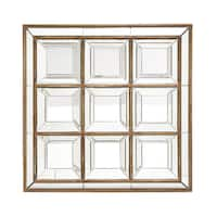 Square Panel Wall Mirror