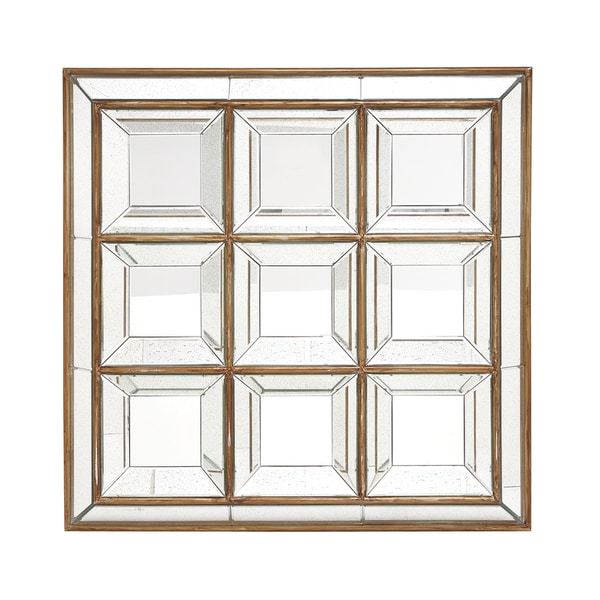 Square Panel Wall Mirror