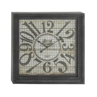 Square Box Wall Clock