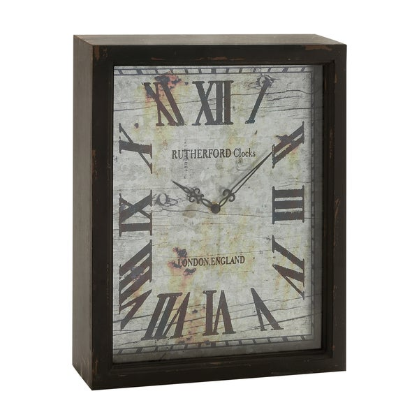 Carbon Loft Millie Shadow Box Clock