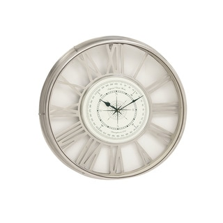 Brass Nickel Wall Clock