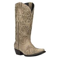 Black Star TRINITY (Bone) Women's Cowboy Boots