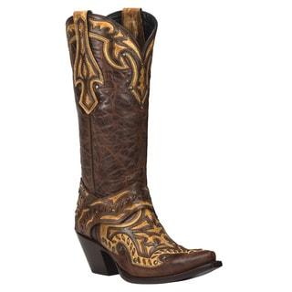 Black Star Leather Eureka Rust/ Tan Boot